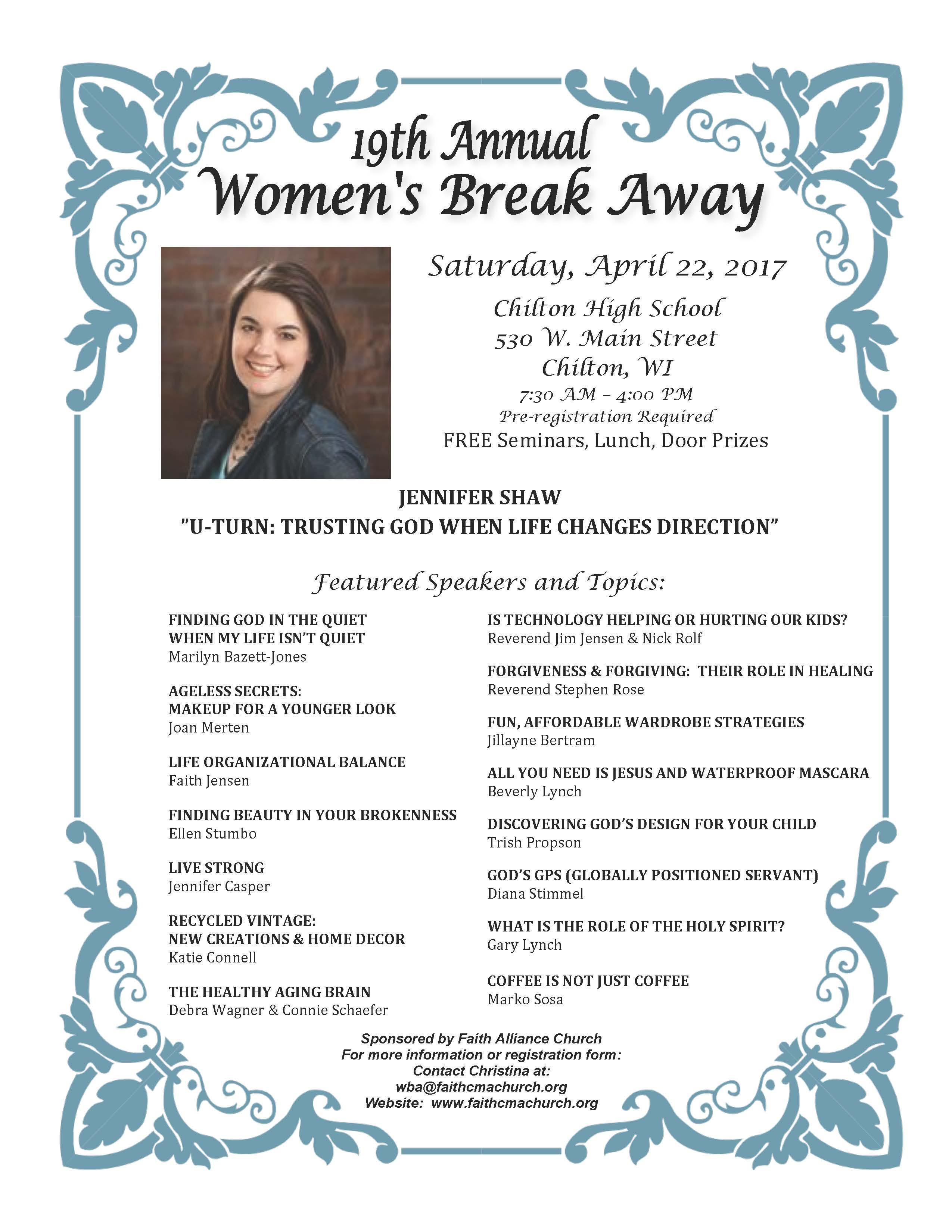 2017 Promotion Poster Women Break Away
